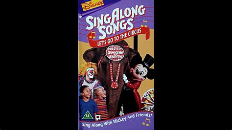 Digitized closing to Disney's SingAlong Songs: Let's Go to